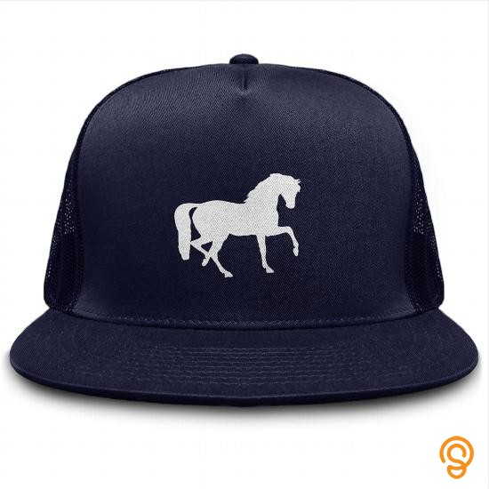 Colorful Horse Silhouette Hat Horses Hats Tee Shirts Review