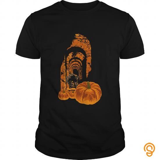 Masculine Terrified Cat   Halloween Shirt T Shirts Design