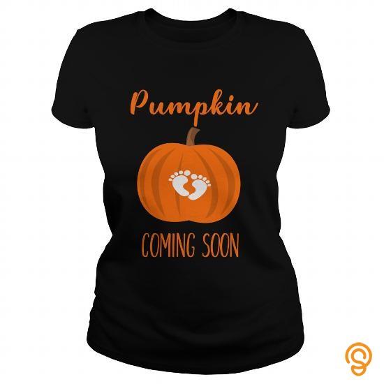Relaxed Pumpkin Coming Soon Halloween Pregnancy Tshirt Tee Shirts Size Xxl