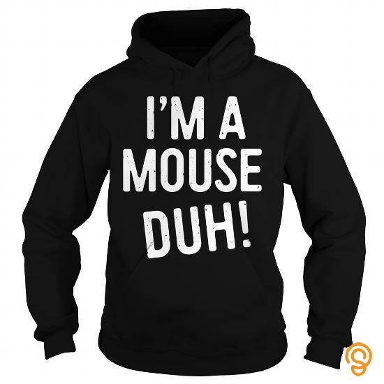 Halloween Shirt Ideas.Im A Mouse Duh Tshirt Halloween Costume Gift Shirt