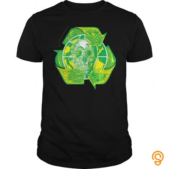 summer-earth-day-recycle-skull-symbol-t-shirts-sale