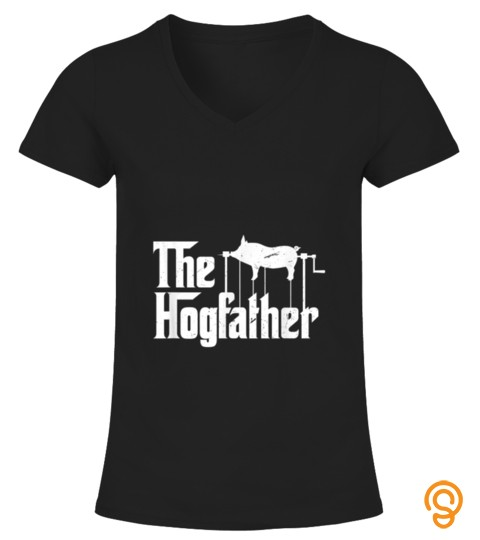 The Hogfather Barbecue Chef  Funny Bbq Grill Master T Shirt