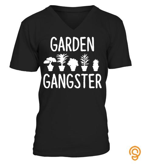 Garden Gangster - Gardening Shirt for Gardeners