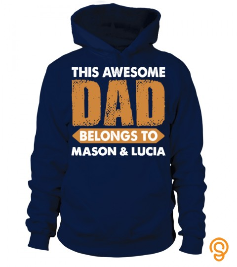 Awesome Dad Custom Shirt