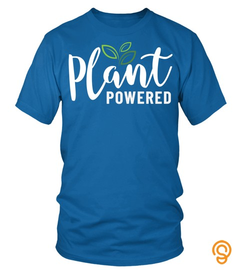 Vegan Plant Based Diet Gift Plant Powered Long Sleeve T Shirt