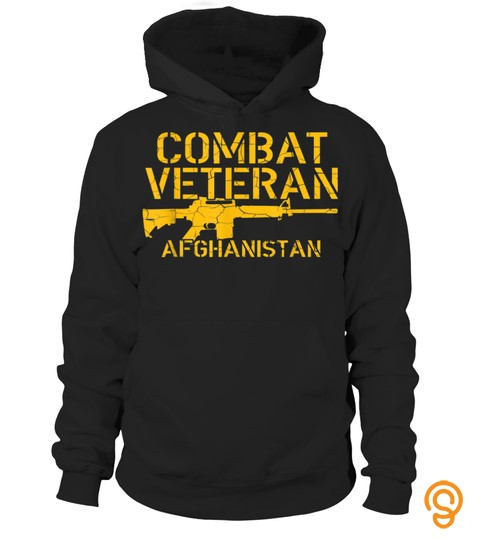 Combat Veteran Afghanistan T Shirt