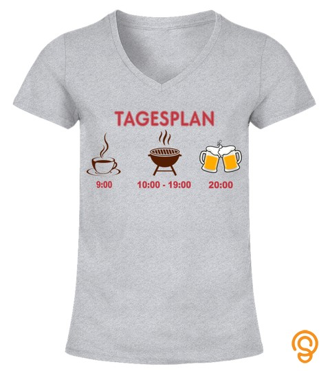 Tagesplan  Barbecue