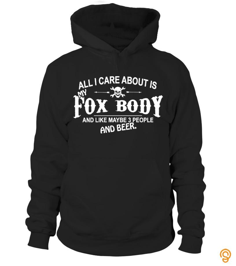 FOX BODY FAN T-SHIRT