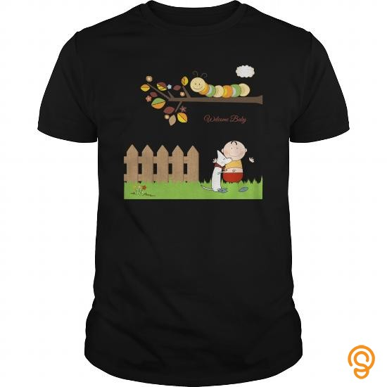 supersoft-cartoon-welcome-baby-garden-art-t-shirts-mens-premium-t-shirt-tee-shirts-clothing-company