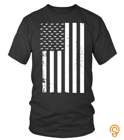 Flag Usa America Cows In On Family Lots Of Lover Pet Animals Cows Best Selling T Shirt