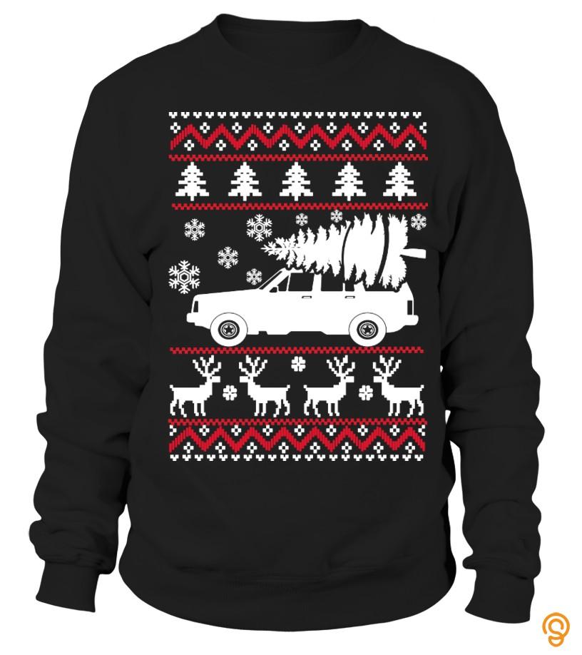 Jeep Cherokee Xj Ugly Sweater