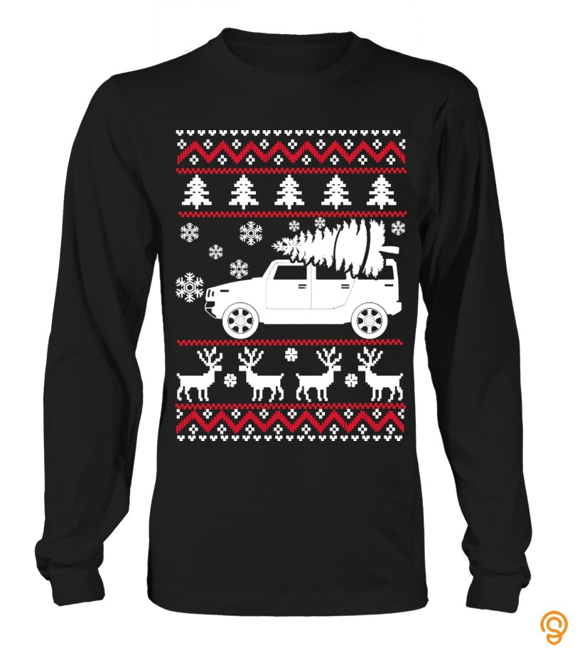 Hummer Ugly Sweater