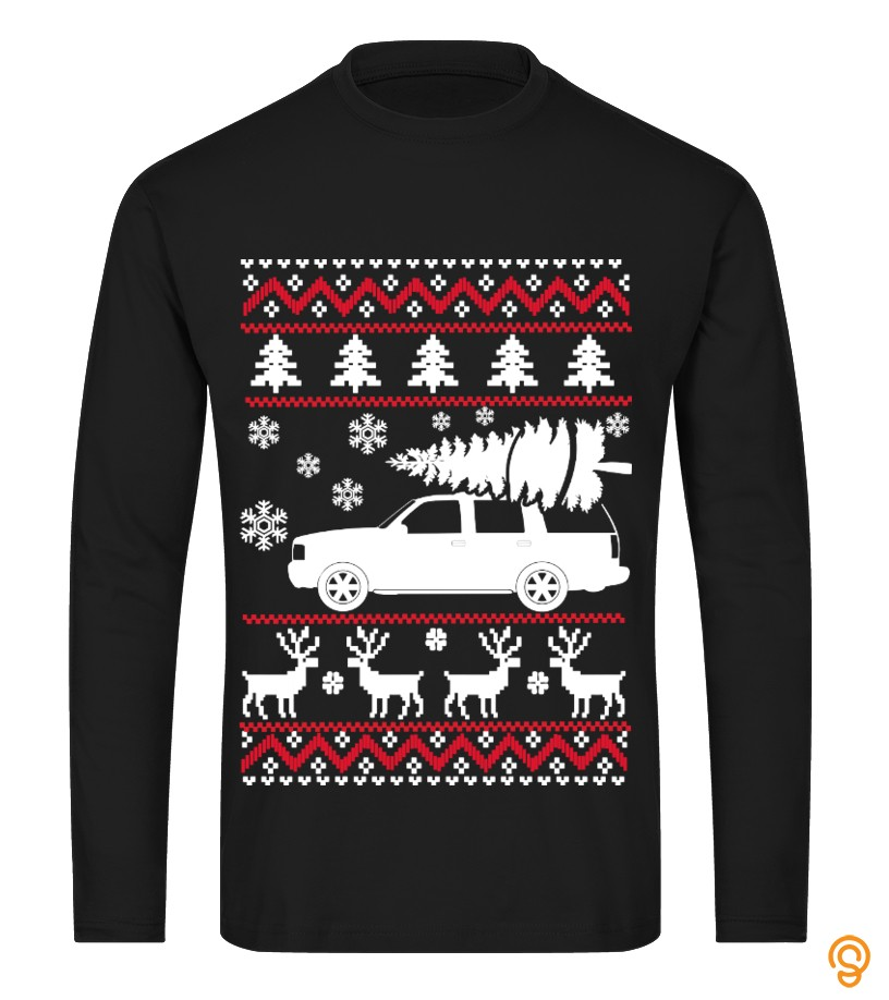 Cadillac Escalade Ugly Sweater