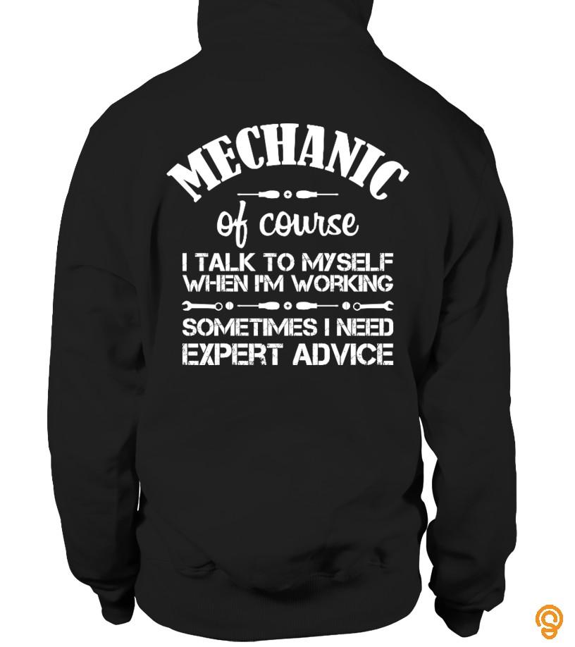 Mechanic: I Talk To Myself...