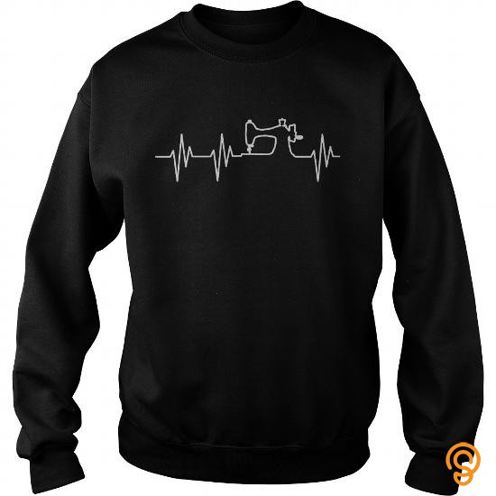 durable-sewing-heartbeat-t-shirts-wholesale