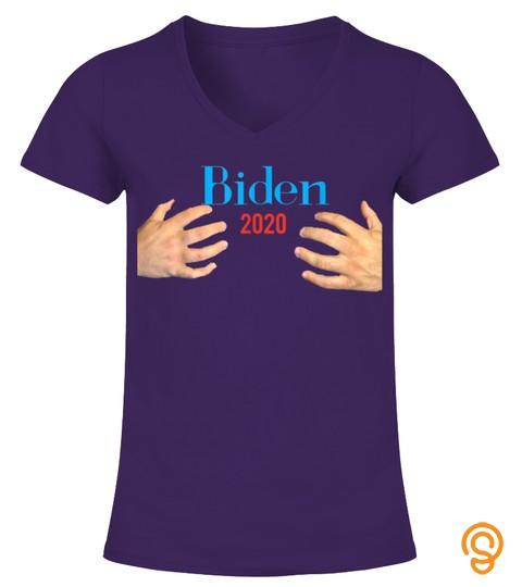 Handsy Joe Biden 2020 Male Hands Funny T Shirt