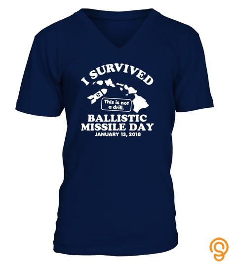 I Survived Ballistic Missile Day Hawaii