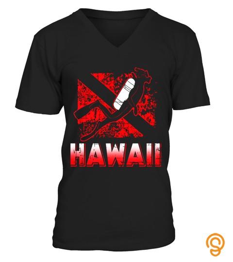 Hawaii Scuba Diving T Shirt