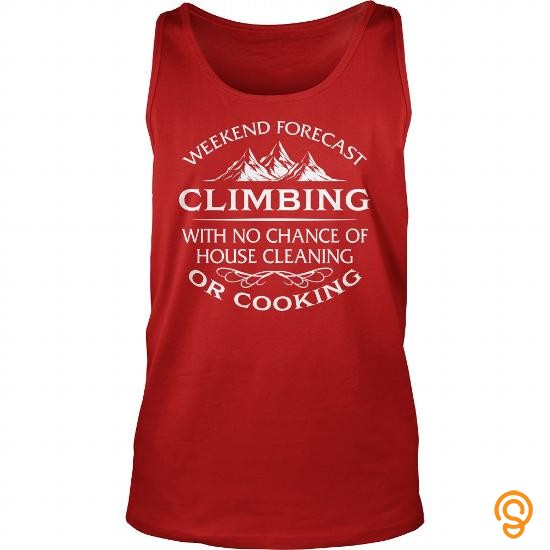 plus-size-weekend-forecast-climbing-with-no-chance-of-house-cleaning-or-cooking-t-shirt-tee-shirts-screen-printing