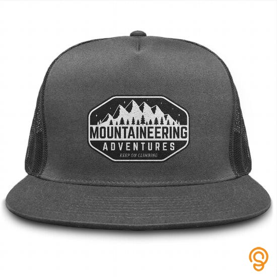 Durable Mountaineering Adventures Cap T Shirts Quotes