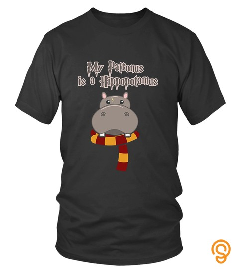My Patronus Is A Hippo T Shirts