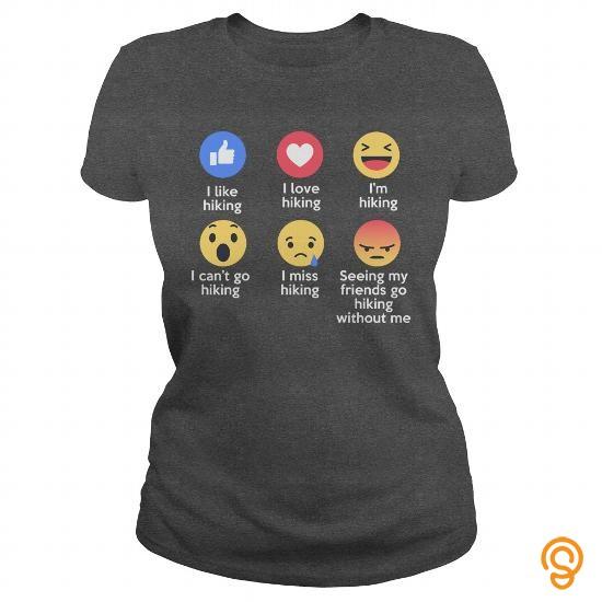 form-fitting-love-hiking-emojis-emoticons-funny-t-shirt-designs-tee-shirts-wholesale