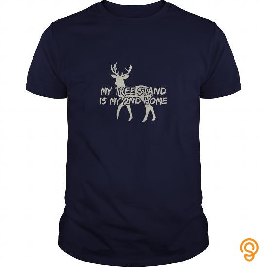 refined-my-tree-stand-is-my-second-home-great-gift-for-any-hunting-lover-tee-shirts-clothes