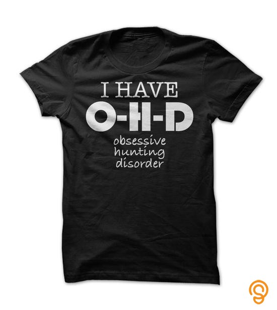 custom-obsessive-hunting-disorder-t-shirts-graphic