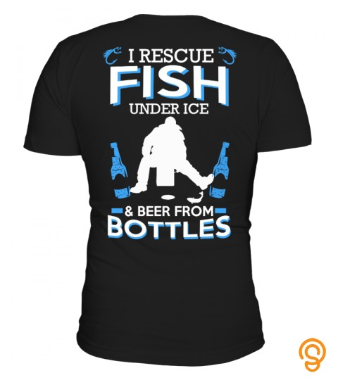 I Rescue Fish Under Ice&beer From Bottle