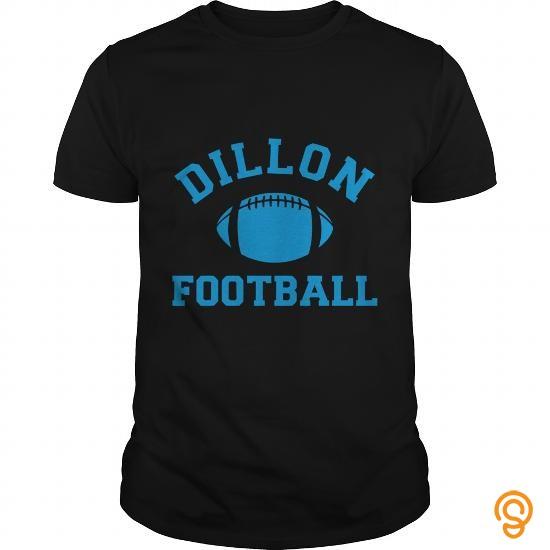 Custom Dillon Panthers Football T Shirt Tee Shirts Sayings Men