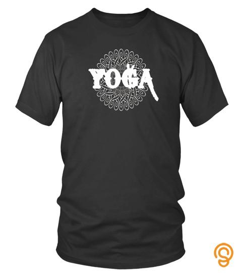 Namaste Mandala T Shirt Yoga Pilates Meditation Om Gift Tee   Limited Edition