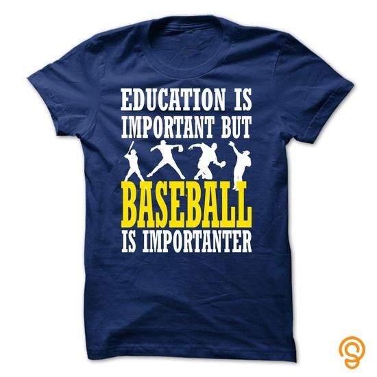 order-now-baseball-is-importanter-t-shirts-screen-printing