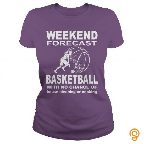 Active Weekend forecast BASKETBALL Tee Shirts Buy Now