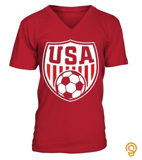 Usa T Shirt  Cool Usa Soccer T Shirt 2