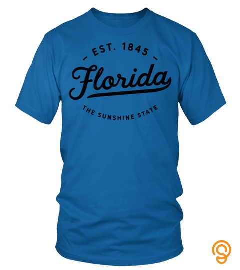 Classic Retro Vintage Florida Throwback Usa Home Novelty Pullover Hoodie
