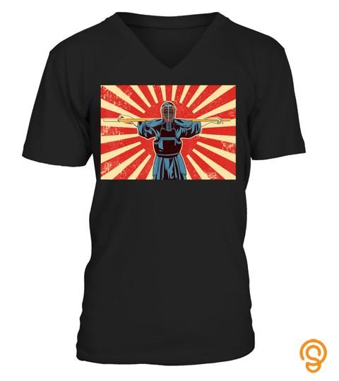 Lucky Kendo T Shirt For Men Women Youth   Black Belt