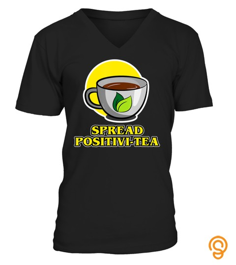 Funny Matcha & Black Tea Spread Positivi Tea Women Men Gift T Shirt