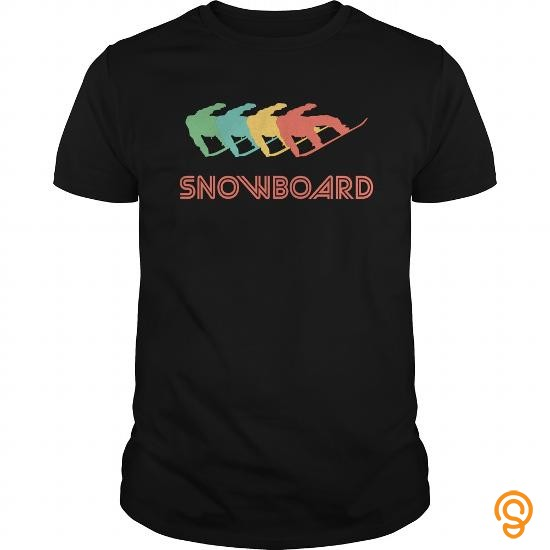 styling-snowboarding-retro-pop-art-tee-shirts-for-adults