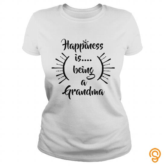 funny-happiness-is-being-a-grandma-t-shirts-wholesale