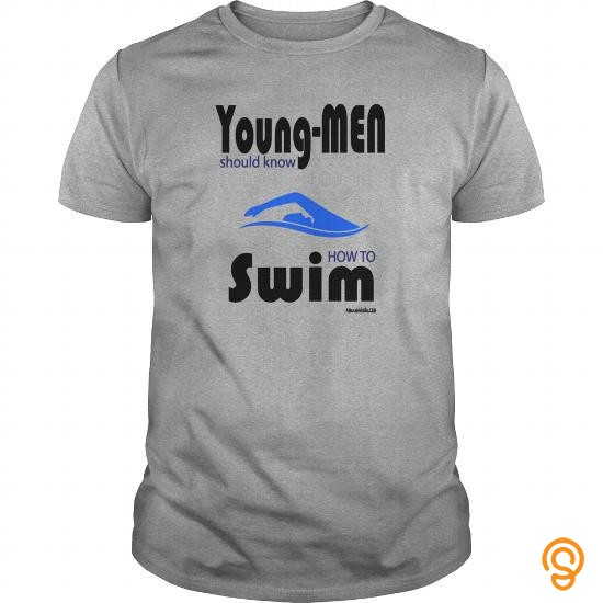 Personal Style SWIM Young Men T Shirts Sayings And Quotes