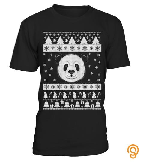 Panda Ugly Christmas Sweater