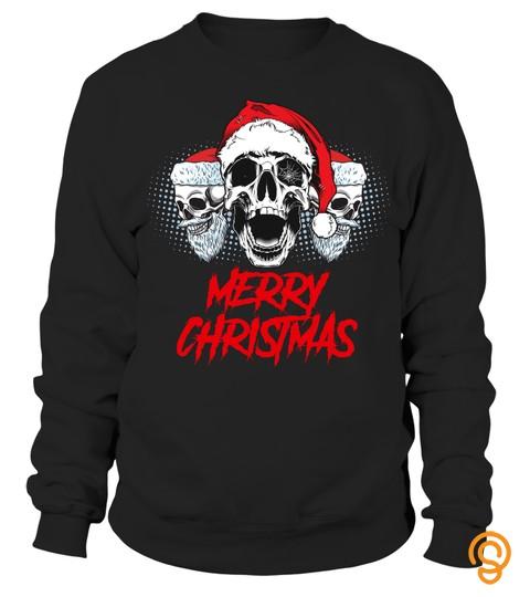 Merry Christmas Skull Xmas Gift B