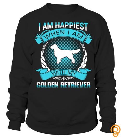 Golden Retriever Men T Shirt