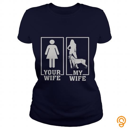Discounted My Wife And Rottweiler Rottie Dog Men Women Pets Dogs Lover Hoodie T Shirts Clothing Brand
