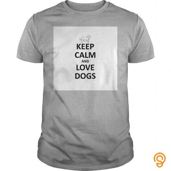 Dependable keep calm love dogs   Men's Premium T Shirt Tee Shirts Sale