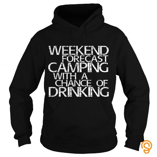 plus-size-weekend-forecast-camping-with-a-chance-of-drinking-t-shirt-limted-edition-t-shirts-gift