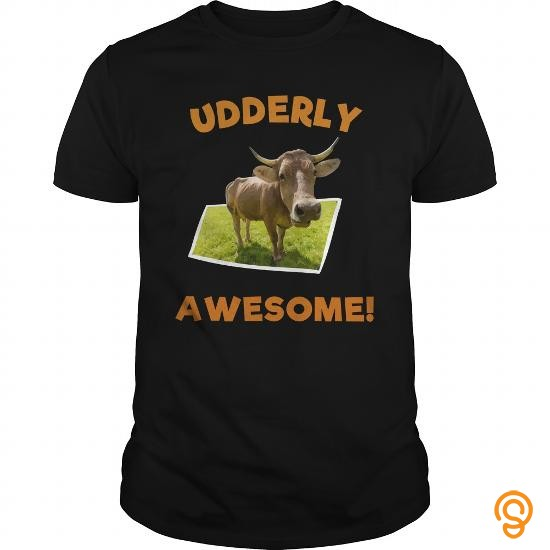 full-priced-udderly-awesome-cow-tee-shirts-sayings-and-quotes
