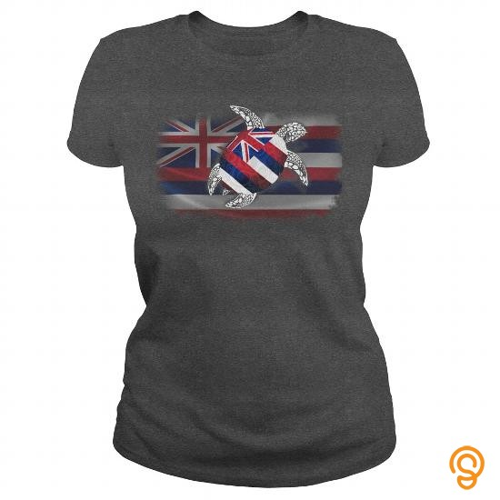 festival-turtle-hawaiian-flag-t-shirts-for-sale