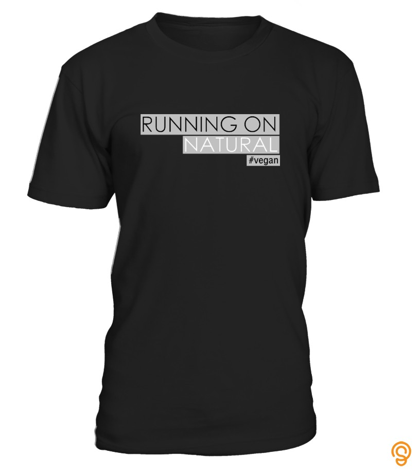 Running On Natural Vegan T-Shirt