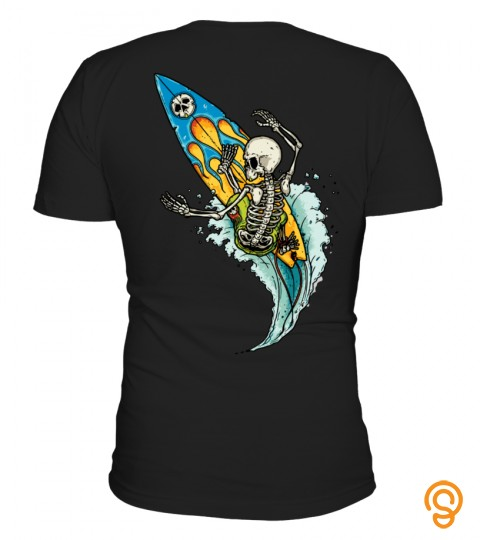 Skeleton Surfer (Back Design)
